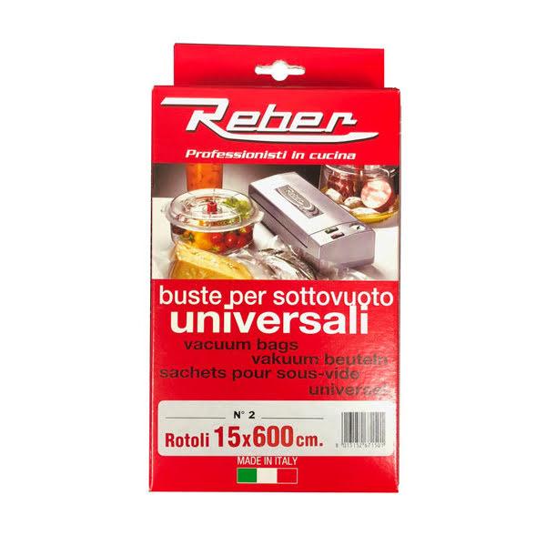 Reber vakuumpåse på Rulle 15x600 2pack