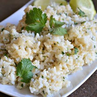 Cilantro Lime Brown Rice.