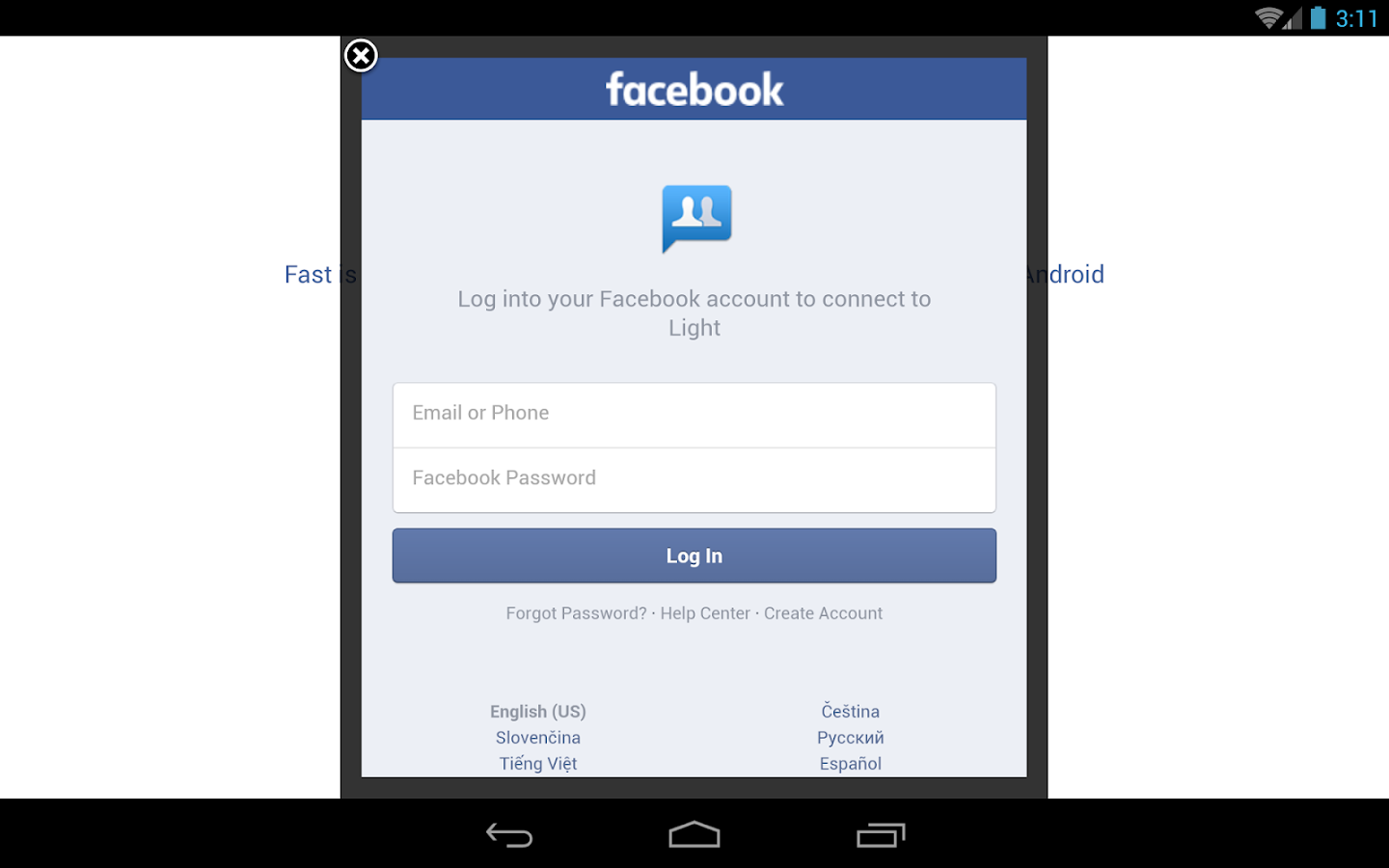 Phone Free Download Facebook App For Android Phone lite messenger for facebook android apps on google play screenshot