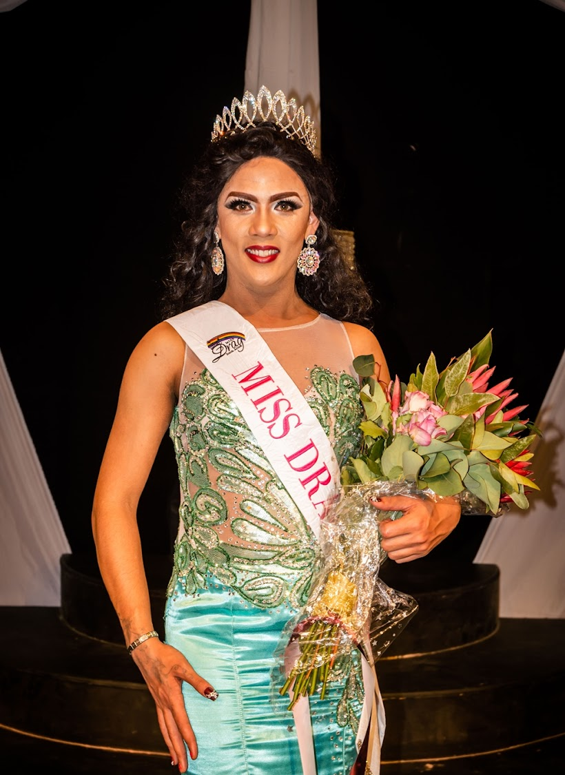 Miss Drag SA 2018 winner, Miss Vicky from the Eastern Cape.