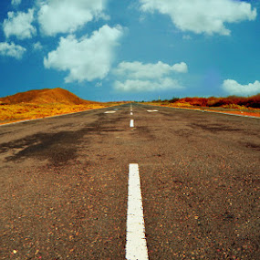 Long Road by Ignatius Kukuh - Landscapes Travel ( road, long )