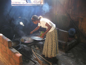 Photo: Kitchen in a roadside restaurant along the A9 highway on the way to Jaffna from Colombo