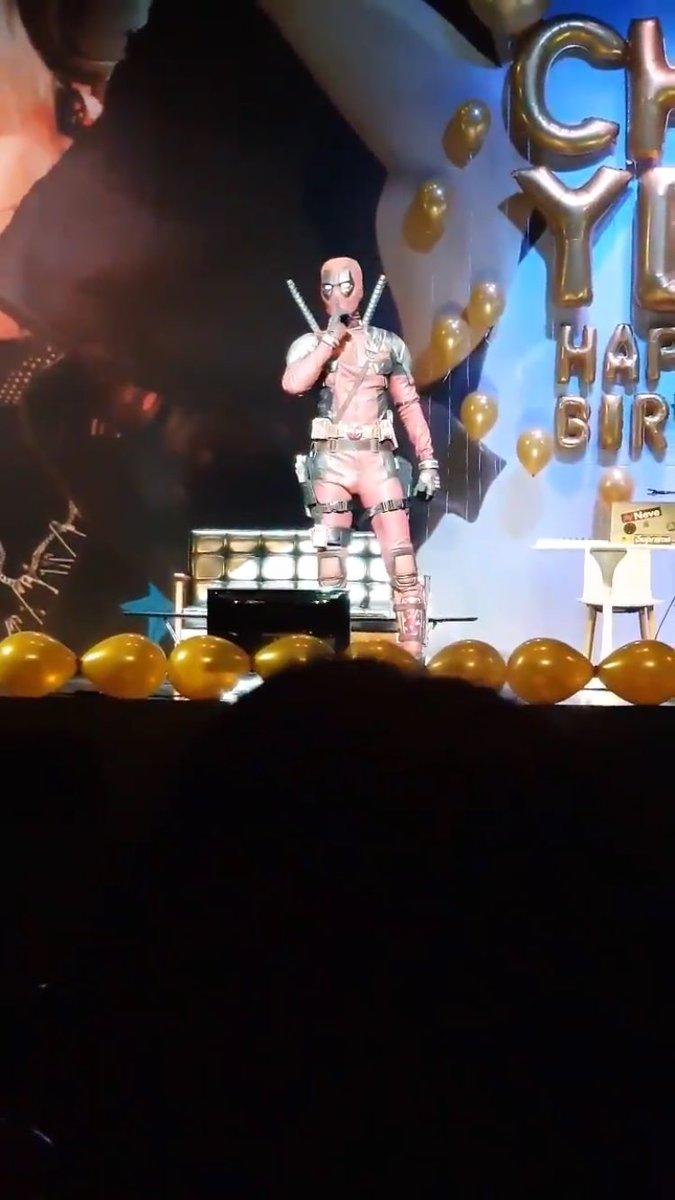 exo chanyeol deadpool 4
