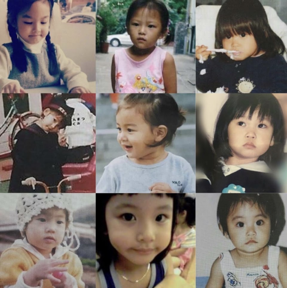idol baby photos twice