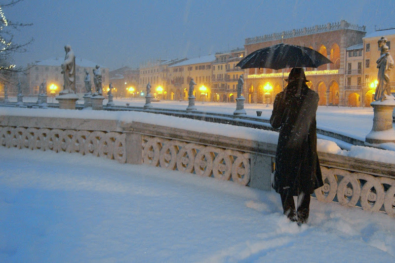 Nevicata a Padova di Zaporogo