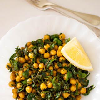 Spinach Chickpeas Chicken Recipes