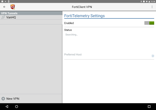 FortiClient VPN 6.2.3.0332 screenshots 6