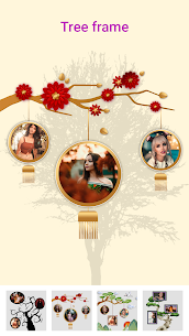 Photo frame – tree photo frame 1