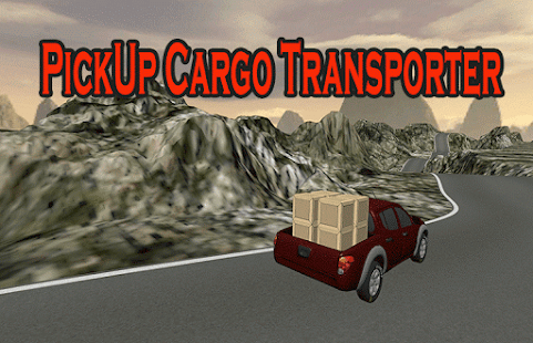 PickUp 4x4 Cargo Truck Sim - náhled