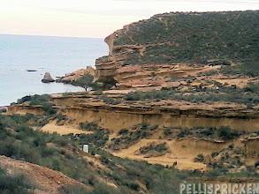 Photo: En massa sandstensformationer tillverkat av vind och regn under många hundratals år