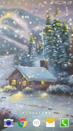 塗装クリスマスライブ壁紙