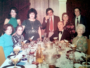 Photo: Mildred Tulman Lesnitzer, Miriam Brunn Matranga, Muriel Tulman Golden, Peter Matranga, Heinz Hart, Gloria Tulman, Stanley Tulman, Ruth Hart