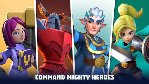 Wild Sky Tower Defense: Epic TD Legends in Kingdom apktram screenshots 22