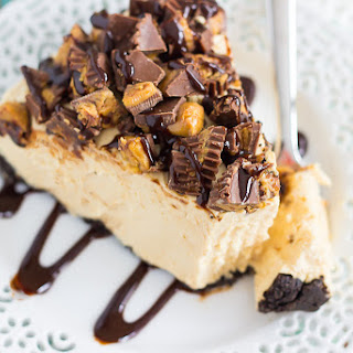 No-Bake Peanut Butter Cup Cheesecake