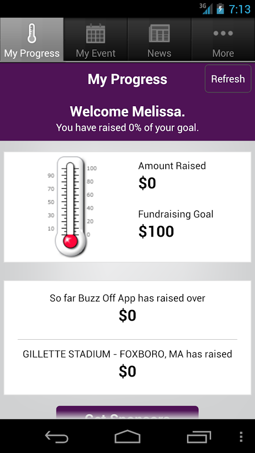 The Mission Buzz Off App- screenshot