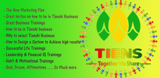 Tianshi Business Group Tiens Product Training Apps On Google Play