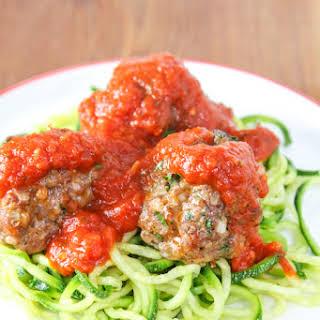 Hot Italian Sausage Meatballs.