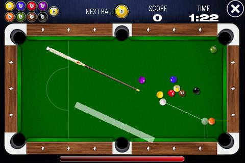 Скриншот 9-Ball Pool Billard Profi Lite