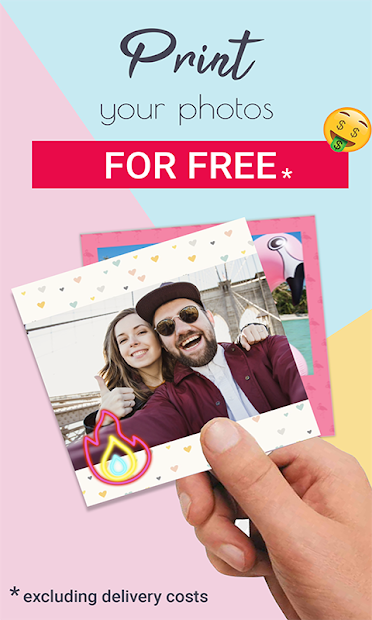 Piiics - Free Photo Prints & Photo Books Android App Screenshot