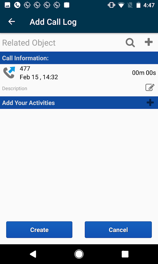 Call Tracker for PipelineDeals CRM- screenshot