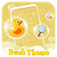 Cute Charming Duck Launcher Theme for PC-Windows 7,8,10 and Mac