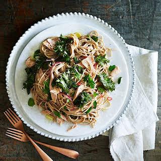 Kale, Lemon And Tuna Spaghetti.