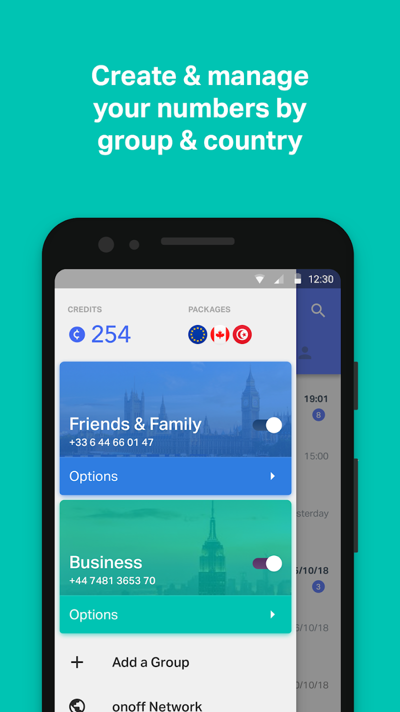onoff App - Call, SMS, Numbers APK Cracked Free Download   Cracked