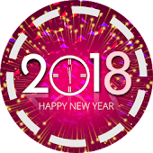 GIF Happy New Year 2018