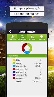 Online Fußball-Manager kostenlos Kings of Football Screenshot