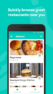 Deliveroo: Restaurant Delivery Screenshot