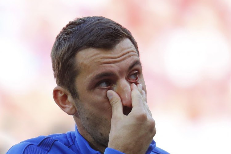 Les larmes émouvantes de Darijo Srna pendant l'hymne croate (vidéo)