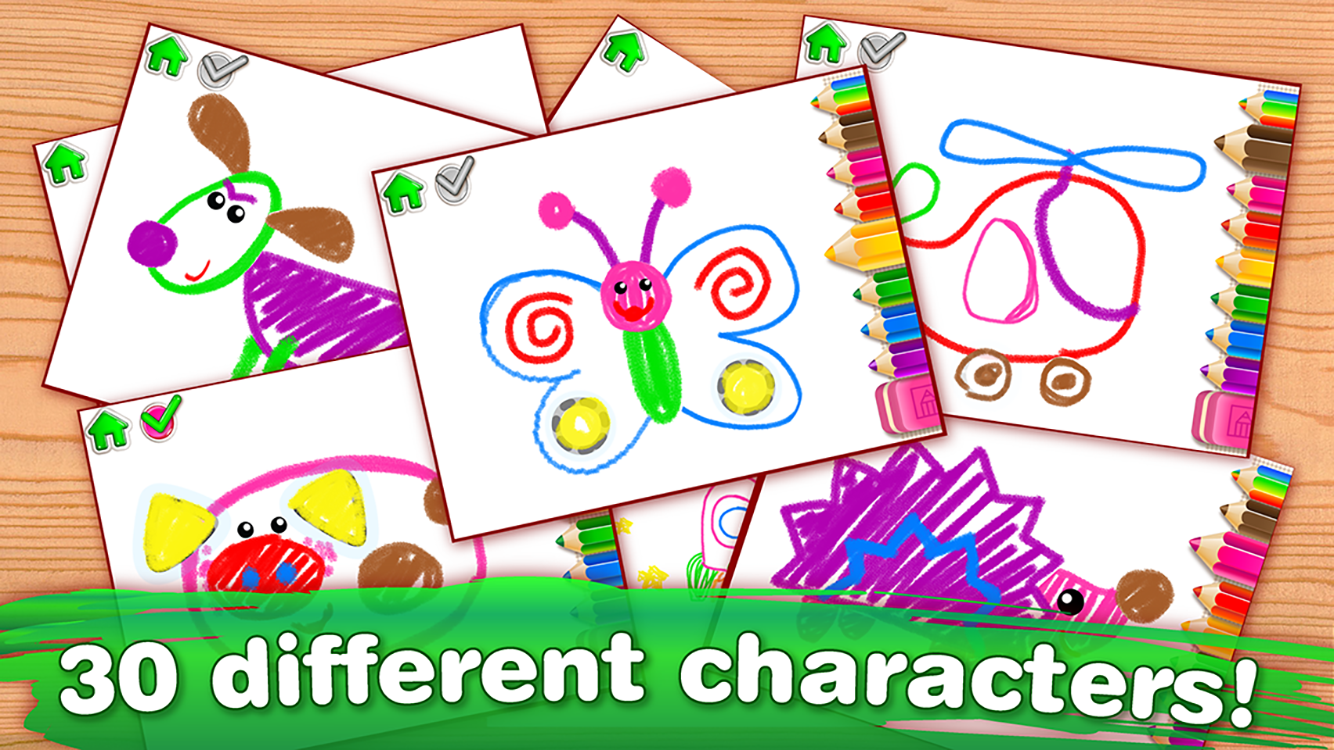 drawing for kids and toddlers screenshot
