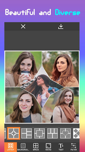 Photo Maker Collage , Editor Photo 1.1 screenshots 1