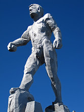 Photo: Statue Atop the Zugspitze