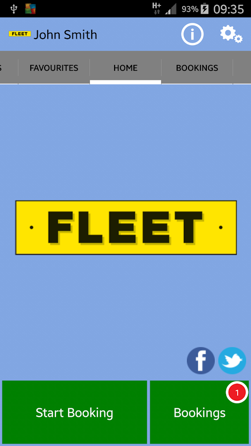 FLEET CARS MINICABS- screenshot