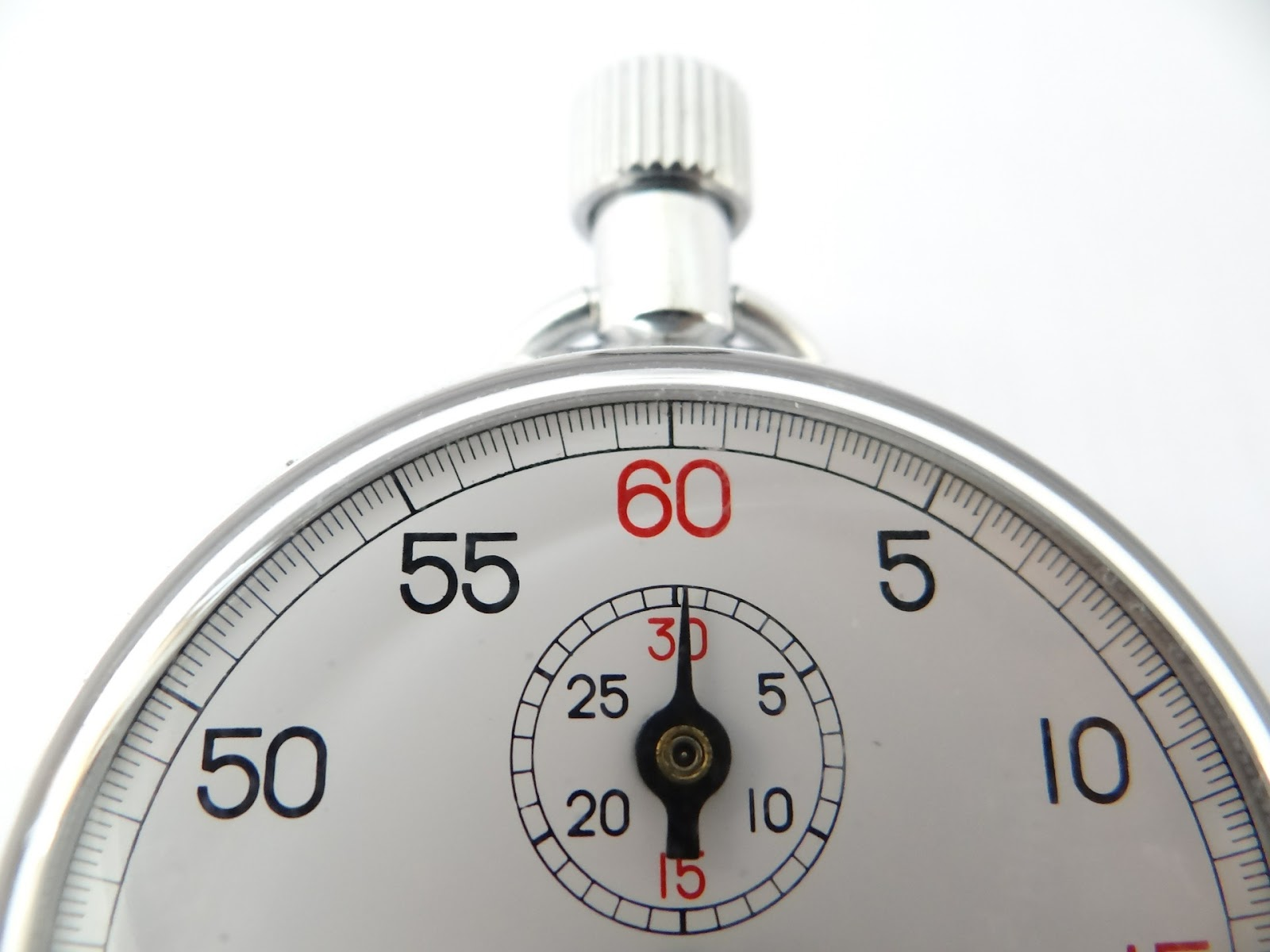 A stop watch shows 60 seconds.