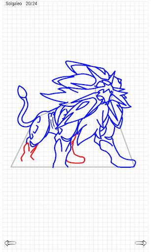 Learn to Draw Pokemon Sun Moon 2.1 screenshots 4