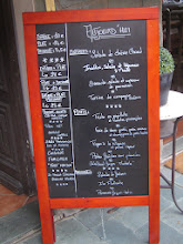 Photo: The menu at the Fleur des Alpes looks good.