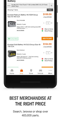 AutoZone for Android screenshot 4