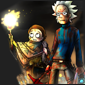 Super Run Adventure Rickmorty
