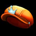 オレンジのキャスケット