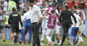 Fernando Hierro ve acabado su corto ciclo con España.