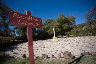 Photo: Yoga Farm, Grass Valley, CA - Labyrinth