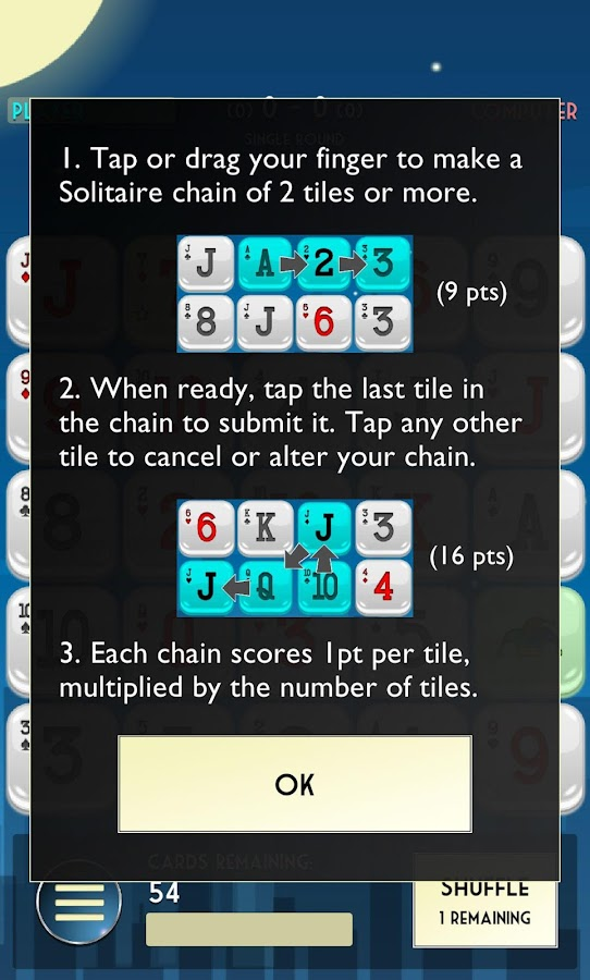 Solitaire Drop- screenshot