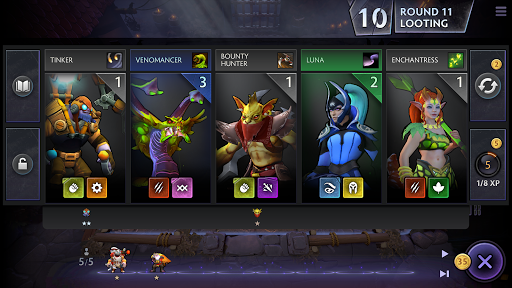 Dota Underlords 1.0 APK MOD screenshots 2