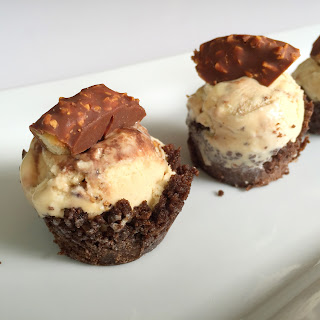 Girl Scout Cookies Samoas Ice Cream Bites