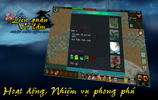 Liu00ean Quu00e2n Vu00f5 Lu00e2m - Mu1ed9ng Giang Hu1ed3 (Offline) 1.0.35 screenshots 3
