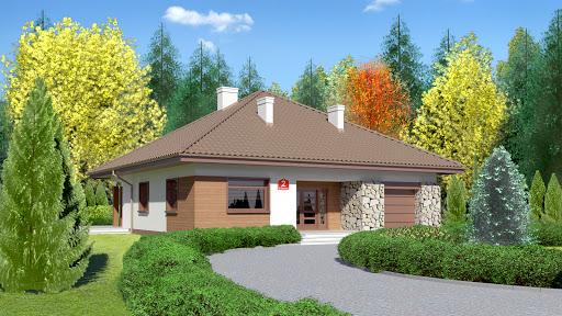 projekt Dom przy Rubinowej 2