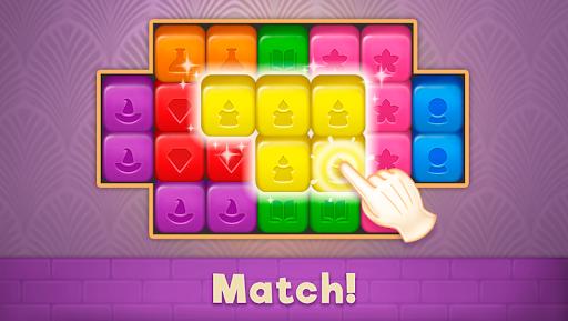 Magic Mansion: Match-3 apkdebit screenshots 3