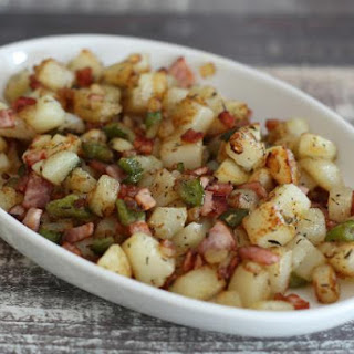 Easy Ham and Potato Hash